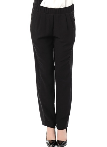 Asymmetry Pantolon Siyah